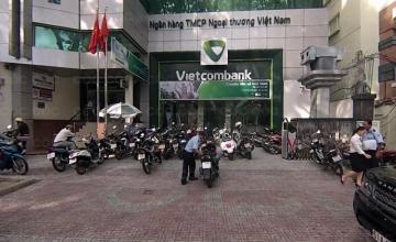 Hệ thống chống cướp ở ngân hàng Vietcombank