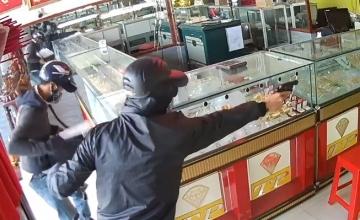 Hệ thống chống trộm, cướp tại tiệm vàng
